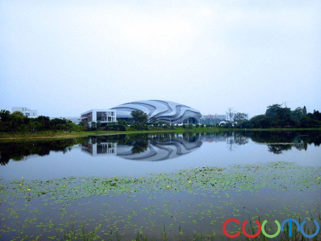 广州大学城中心湖 --www.cuutu.com