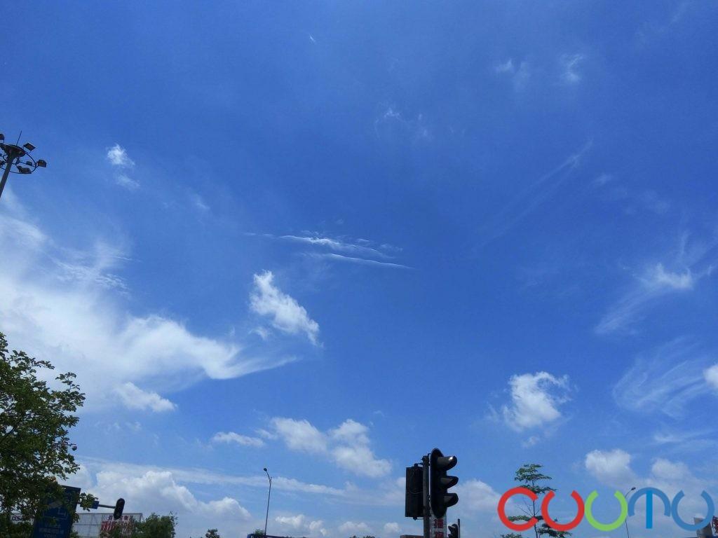 广州蓝天与白云